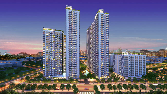 The Western Capital apartment project